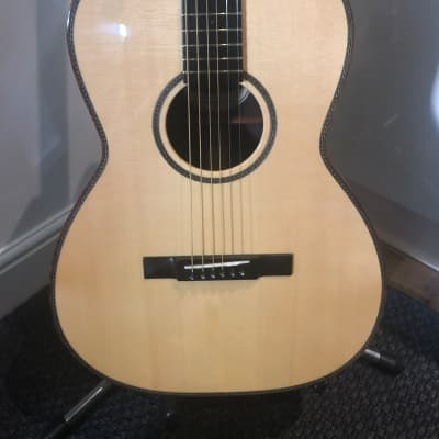 Brook Aune Upgraded Custom Shop Build Parlour Guitar Acoustic Beater for sale