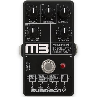NEW! Subdecay M3 - Monophonic Guitar Synth FREE SHIPPING!