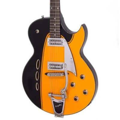 Backlund Rockerbox II DLX  Semi-Hollow Maple Body Mahogany Neck Soft C 6-String Electric Guitar for sale