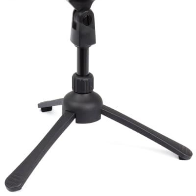 Peavey Desktop Microphone Tripod Stand Black