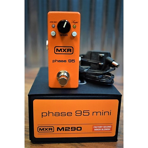 dunlop mxr m290 phase 95 mini guitar effect pedal power reverb. Black Bedroom Furniture Sets. Home Design Ideas