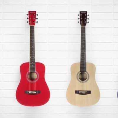 Tanara Acoustic 1/2 Size Dark Red Guitar TD12DR for sale