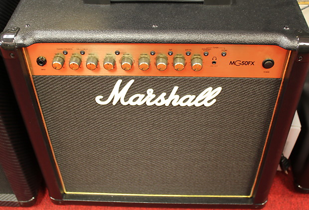 marshall mg50gfx 50w 1x12 guitar combo amplifier reverb. Black Bedroom Furniture Sets. Home Design Ideas