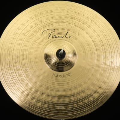 """Paiste 20"""" Signature Full Ride Cymbal Traditional w/ FREE Paiste T-Shirt"""
