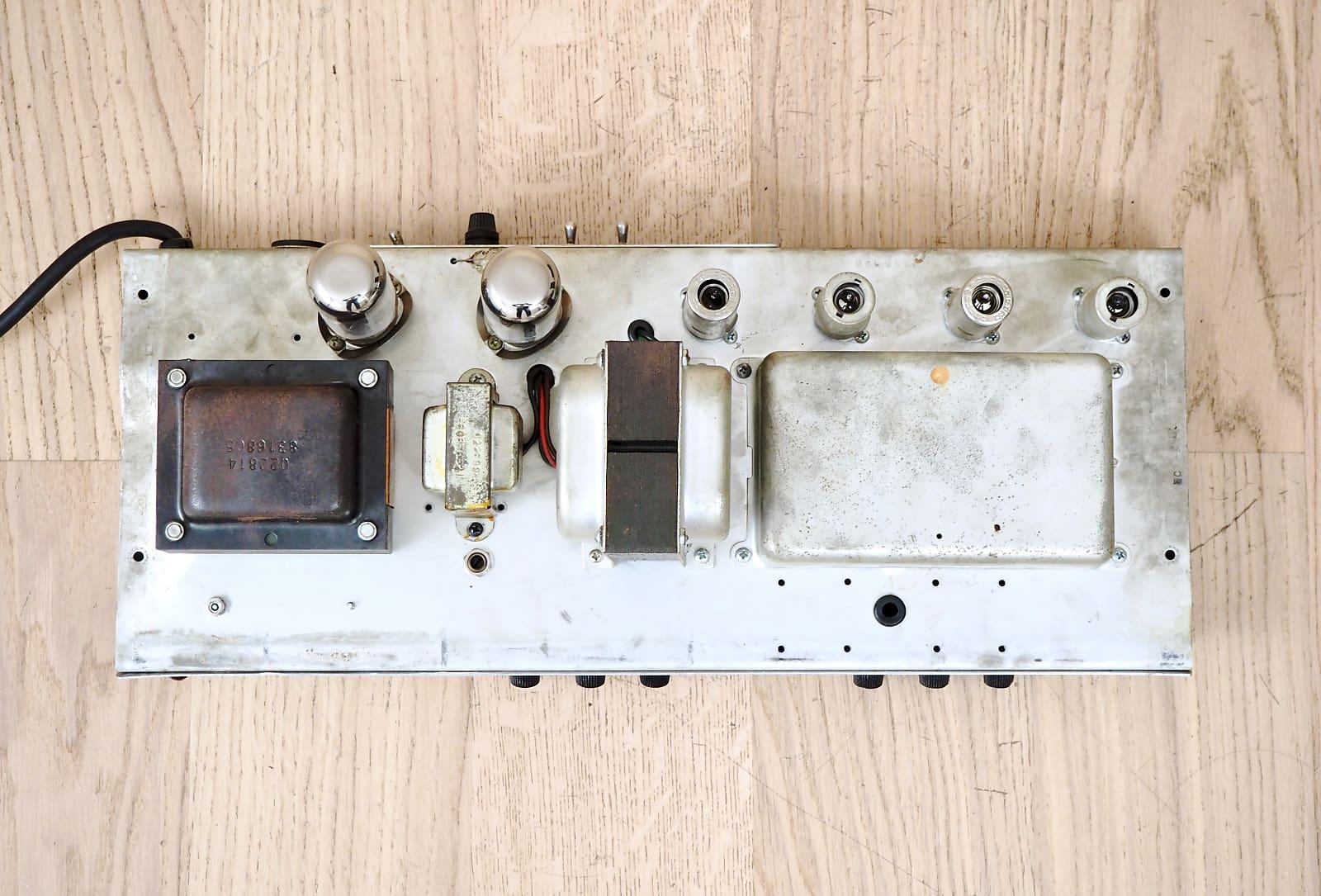1968 Fender Bassman Vintage Tube Amp Head Silverface Drip Edge Serviced