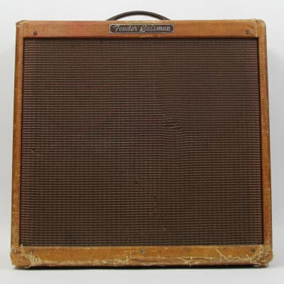 "Fender Bassman 5F6-A Narrow Panel 40-Watt 4x10"" Guitar Combo 1958 - 1960"