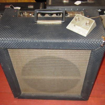 Vintage 1964 Ampeg R-15 R SuperReverb Superbreverb Grey tolex