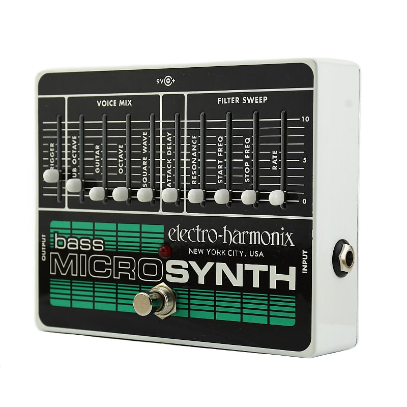 electro harmonix bass micro synth russo music reverb. Black Bedroom Furniture Sets. Home Design Ideas