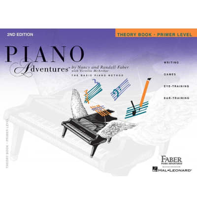 Piano Adventures: The Basic Piano Method - Theory Book Primer Level (2nd Edition)