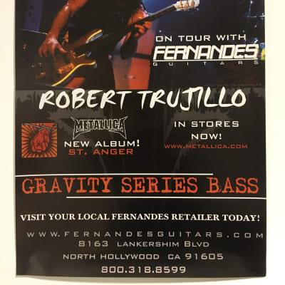 Fernandes Robert Trujillo Poster