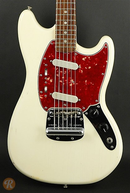 fender mustang 1965 olympic white price guide reverb. Black Bedroom Furniture Sets. Home Design Ideas