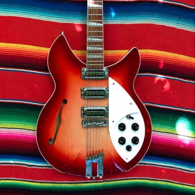 Rickenbacker Rose Morris 1993plus 2015 Fireglo for sale