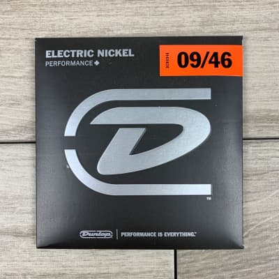Dunlop Performance+ Nickel Wound Electric Guitar Strings, 09-46, Extra Light