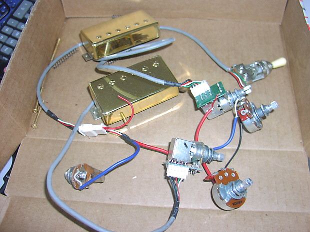 epiphone les paul harness wire epiphone les paul pro wiring harness with probucker ...