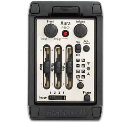 Fishman Aura Pro Preamp - Wide Pickup