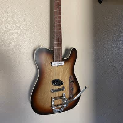 JW Van Tele with fantastic solid Brazilian Neck and Fretboard for sale