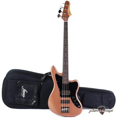 Fano JM4 Standard Bass RW Fingerboard w/ Gigbag - Copper Metallic (NOS) for sale
