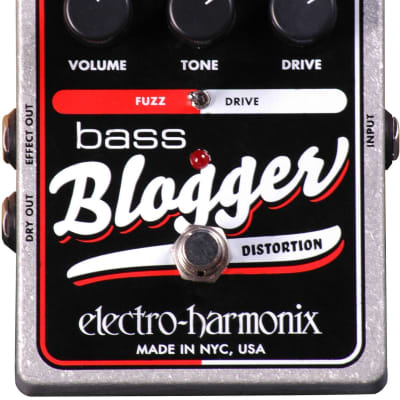 Electro Harmonix EHX Bass Blogger Distortion Pedal for sale
