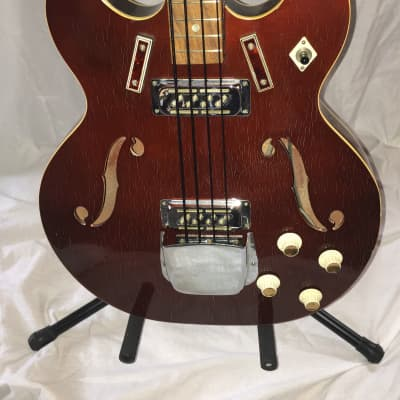 Vintage late 1960's or early 1970's Harmony H-27 Bass for sale