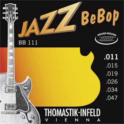 Thomastik Infeld BB111 Jazz BeBop Round Wound Electric Guitar Strings 11-47