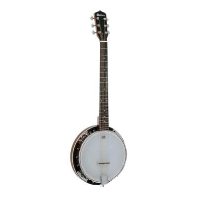 Dimavery BJ-30 6-String Guitar Banjo for sale
