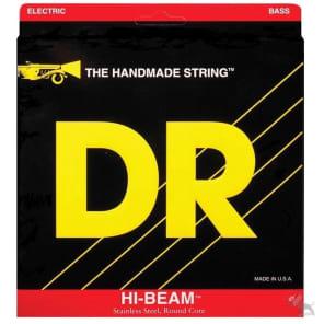 DR MR6-130 Hi-Beam Stainless Steel 6-String Electric Bass Strings - Medium (30-130)