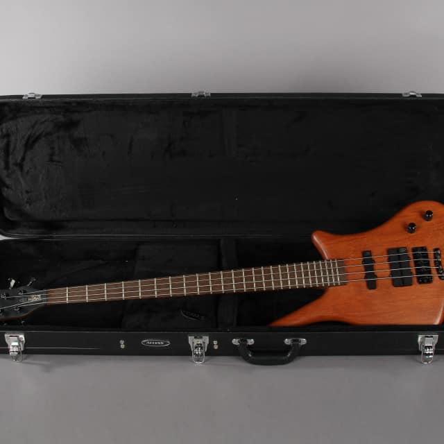 2003 Warwick Dolphin SN TCS 4 String Bass Guitar image