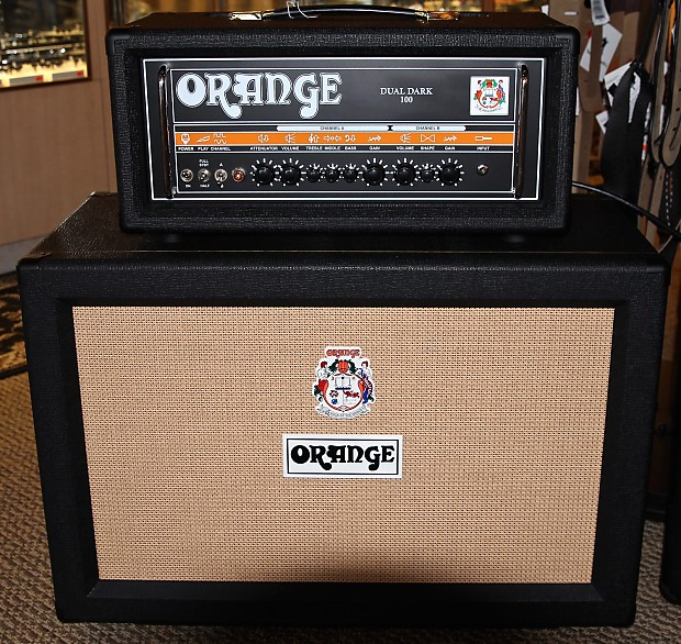 Orange Amps Dual Dark 100 Head 2014 Black (Cabinet not | Reverb