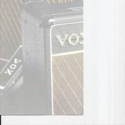 Vox-Brochure/Catalog, 1998/99