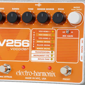 Electro Harmonix V256 Vocoder with Reflex Tune and 8-256 Bands for sale