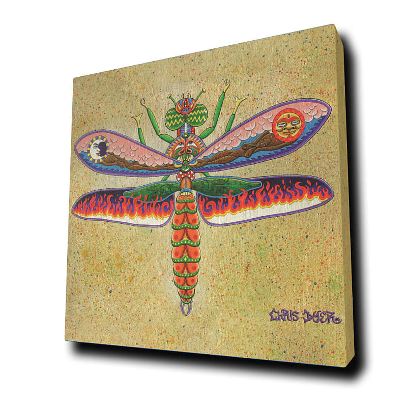 Quot Heaven Amp Hell Dragonfly Quot By Chris Dyer 224 Reverb
