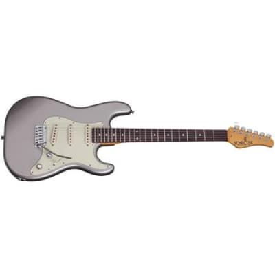 Schecter Nick-Johnston-trad-aslvr Nick Johnston traditional guitar atomic silver Item ID: 7 for sale