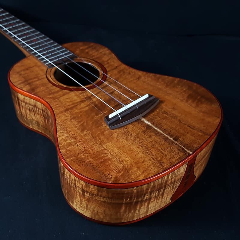 Kala Elite KOA-T-POI Made in USA Luthier Collection Poi Pounder Tenor  Ukulele