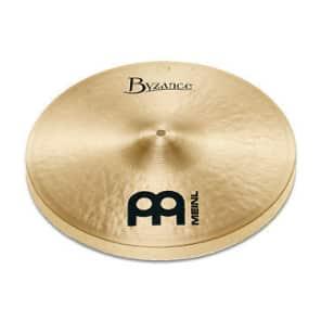 "Meinl 13"" Byzance Traditional Medium Hi-Hat (Pair)"