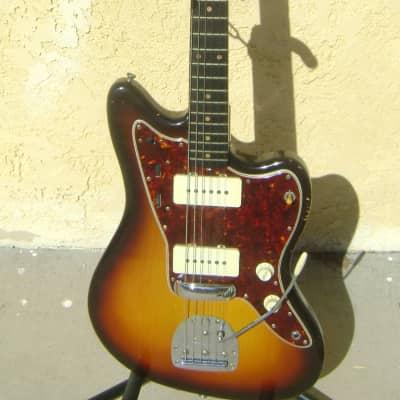 Fender Jazzmaster 1959 Sunburst Tortoise Shell Pickguard