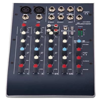 Studiomaster C2-2 2020 Black