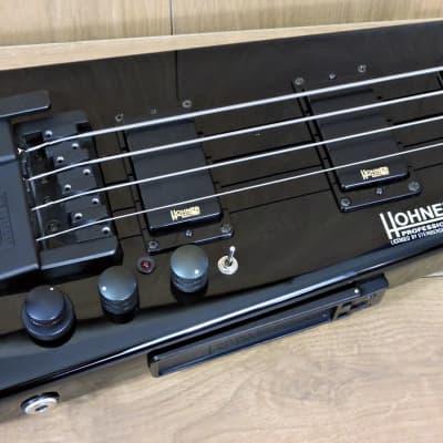 Hohner B2A Headless Bass Black for sale