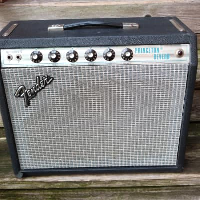 Fender Princeton Reverb silver panel 1979 for sale