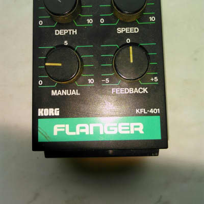 Korg KFL-401 Flanger Modul Pedal for sale
