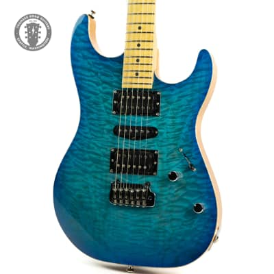 Mike Lull SX Blue-Burst for sale