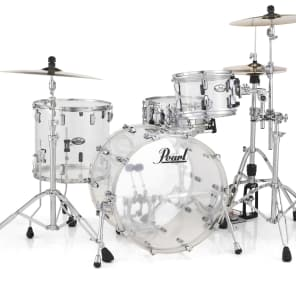 Pearl Crystal Beat Acrylic Drum Set 20/12/14 Ruby Red
