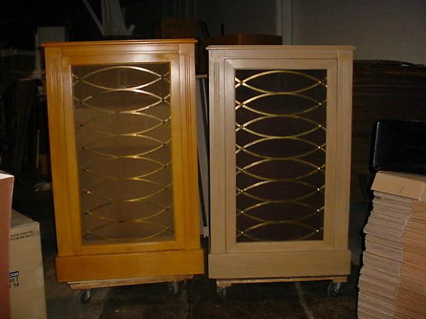 pair electro voice ev the patrician premium system 18wk. Black Bedroom Furniture Sets. Home Design Ideas