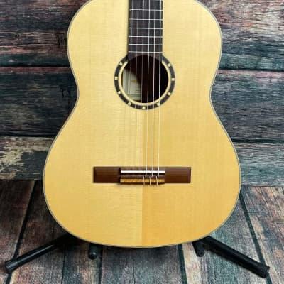 Ortega Left Handed R121SN-L Family Series Nylon String Acoustic Guitar for sale
