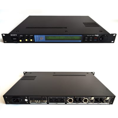 Sony DPS-D7 Stereo Delay Unit Secret Weapon