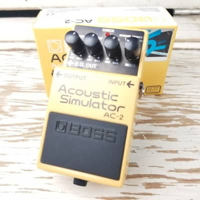 Used: Boss AC-2 Acoustic Simulator