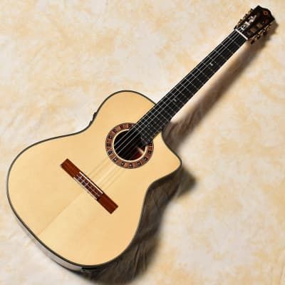 Martinez Crossover MP14-Ziricote acoustic/electric classical guitar for sale
