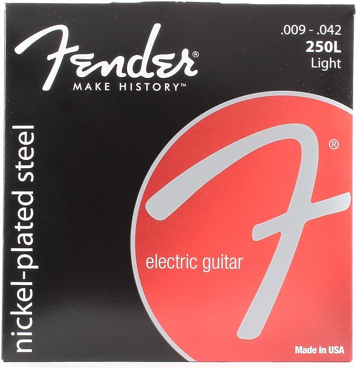 Fender Super 250s 09-42 250L Nickel Plated Steel