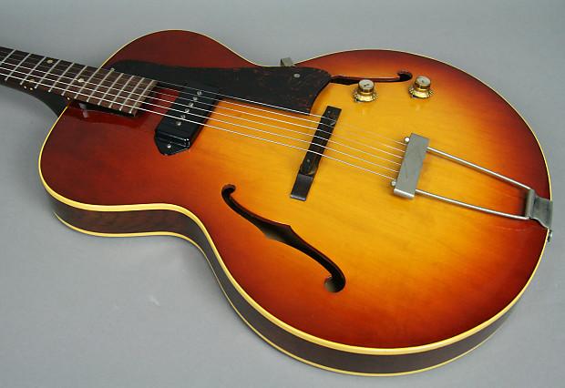 1965 gibson es 125t vintage archtop electric guitar original reverb. Black Bedroom Furniture Sets. Home Design Ideas