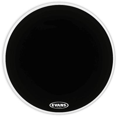 """Evans BD20RA EQ1 Resonant Black Bass Drum Head - 20"""""""