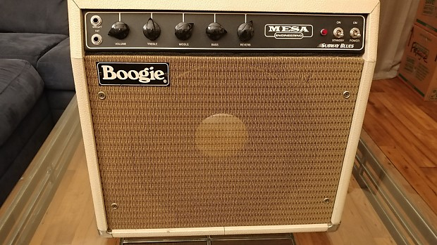 Mesa Boogie Subway Blues, Amp 95, Cabinet 70s to 80s Creme Tolex